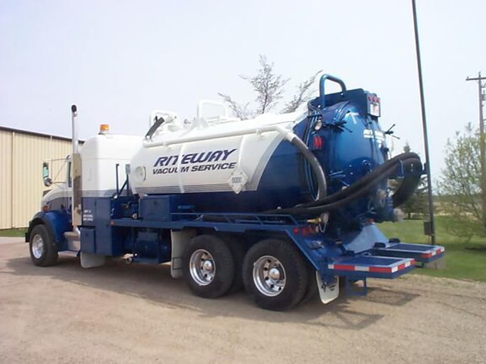 edmonton hydrovac truck