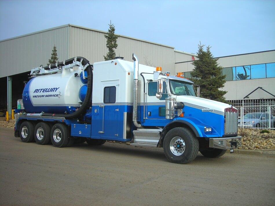 edmonton hydro vac truck