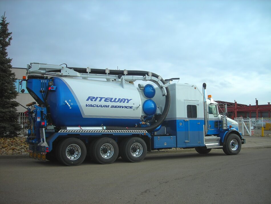 hydrovac truck edmonton