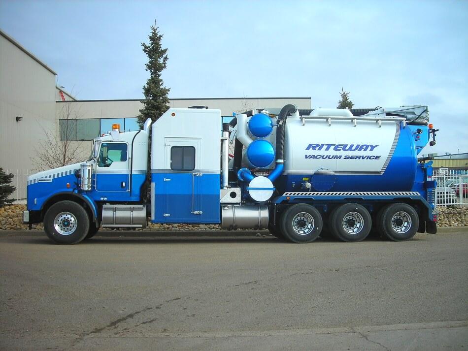 hydro vac truck edmonton
