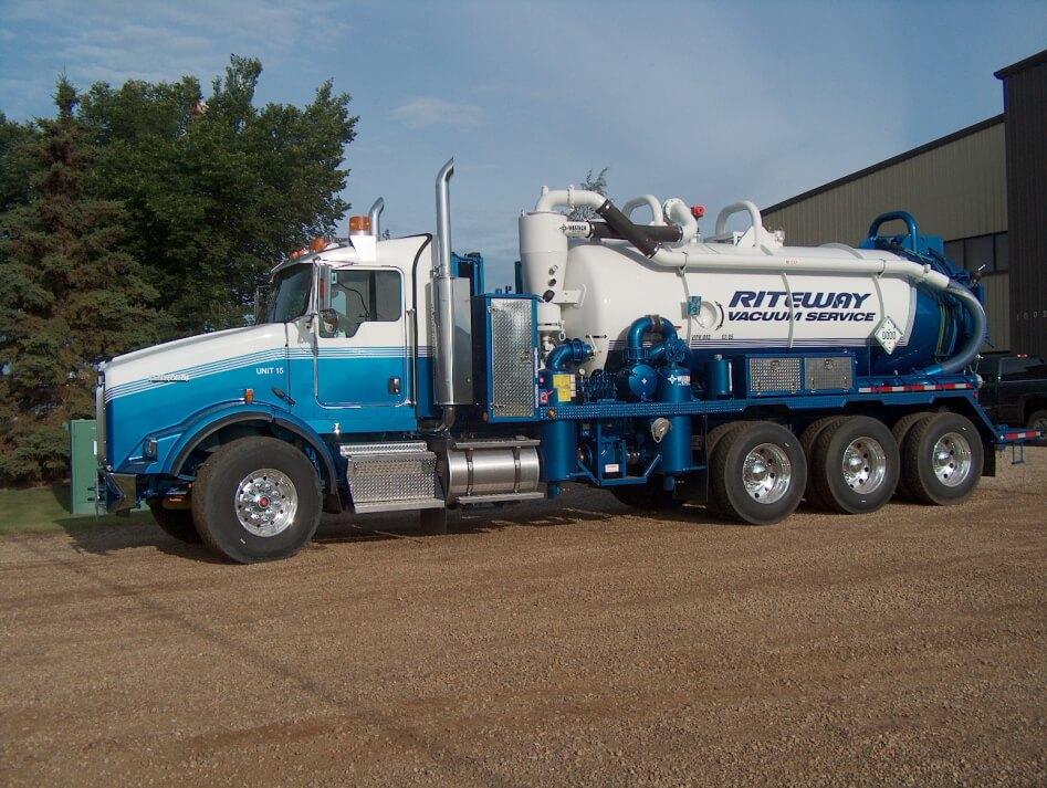 hydro excavation truck edmonton